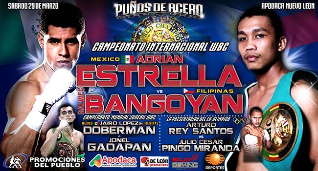 Adrian Estrella vs Balweg Bangoyan en Vivo