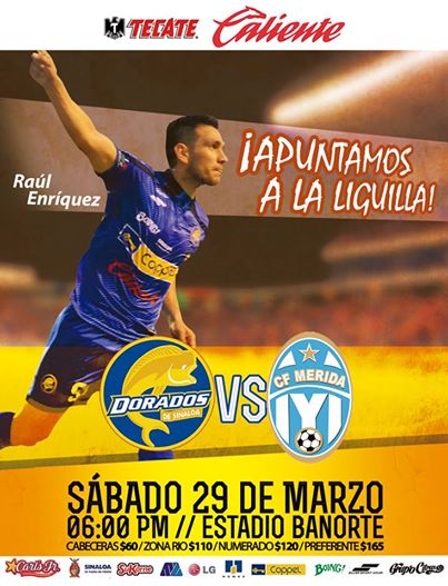 Dorados vs Mérida en Vivo