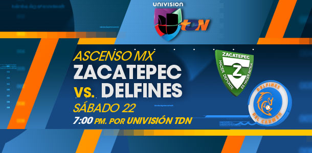 Zacatepec vs Delfines en Vivo – Ascenso MX 2014