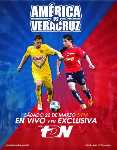 América vs Veracruz en Vivo