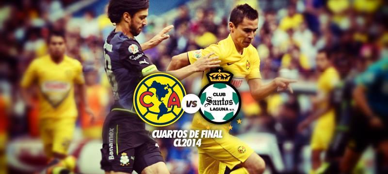 América vs Santos Laguna en Vivo – Cuartos de Final Liga MX 2014