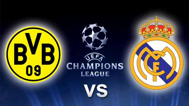 Borussia Dortmund vs Real Madrid en Vivo - Champions League