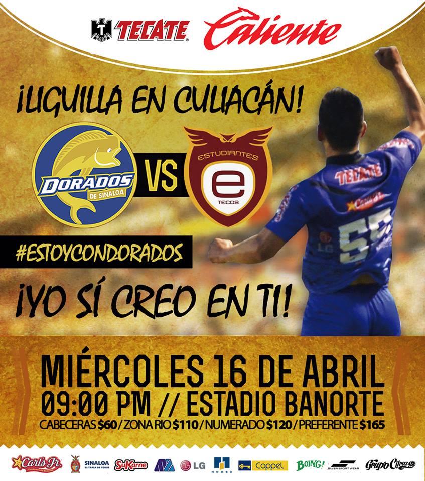 Dorados vs Estudiantes Tecos en Vivo