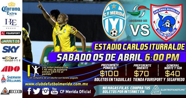 Mérida vs Ballenas Galeana en Vivo