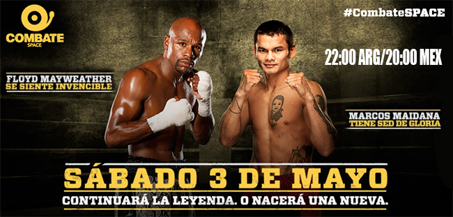 Floyd Mayweather Jr vs Marcos Maidana en Vivo