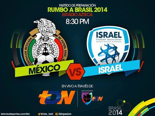 México vs Israel en Vivo