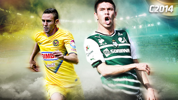 Santos vs América en Vivo – Cuartos de final Liga MX 2014