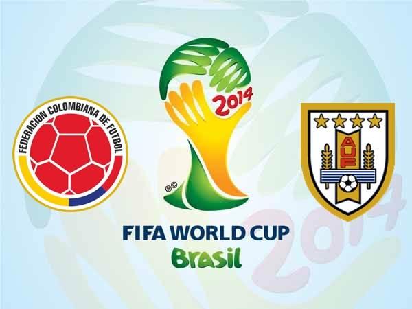 Colombia vs Uruguay en Vivo 2014