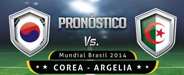 Corea vs Argelia en Vivo 2014