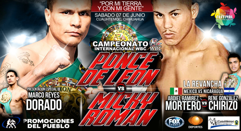 Daniel Ponce De León vs Miguel Román en Vivo