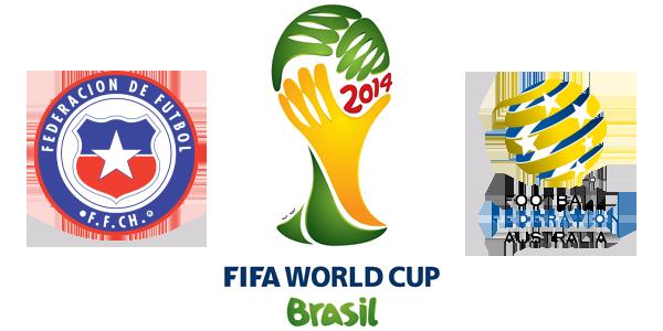 El partido Chile vs Australia en Vivo
