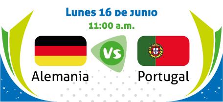 En Vivo Alemania vs Portugal 2014