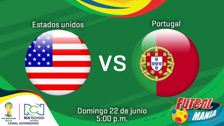 En Vivo Estados Unidos vs Portugal 2014