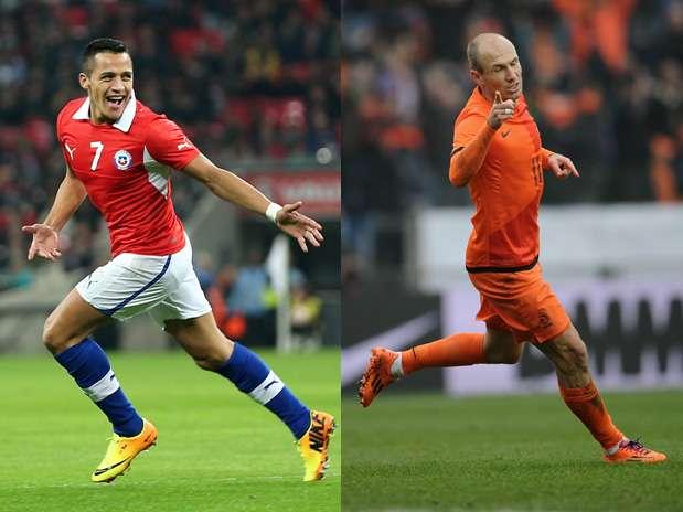 En Vivo Holanda vs Chile 2014