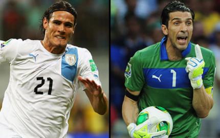 En Vivo Italia vs Uruguay 2014