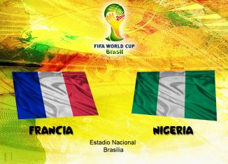 Francia vs Nigeria en Vivo 2014