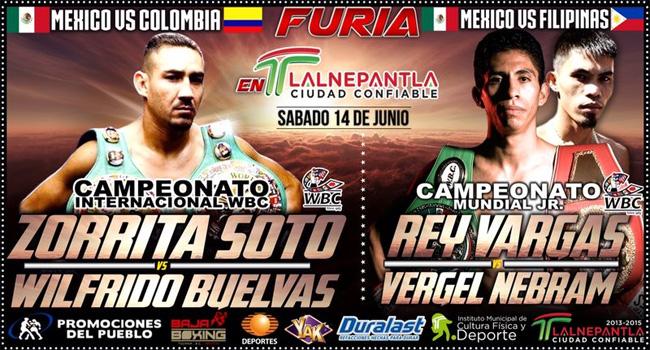 """Humberto """"Zorrita"""" Soto vs Wilfrido Buelvas en Vivo 2014"""