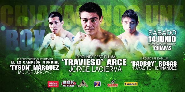 """Jorge """"Travieso"""" Arce vs Jorge Lacierva en Vivo"""
