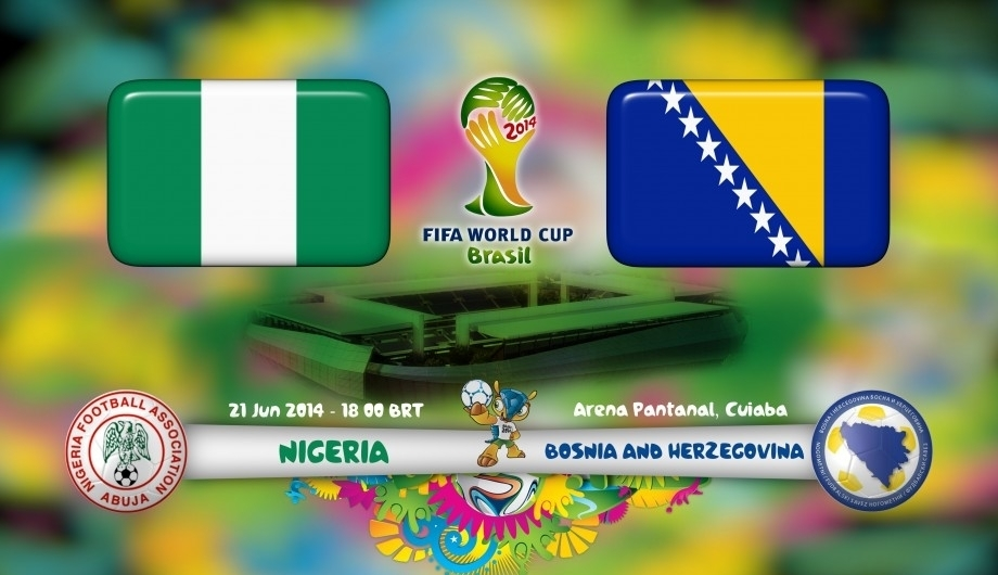 Nigeria vs Bosnia en Vivo - Mundial 2014