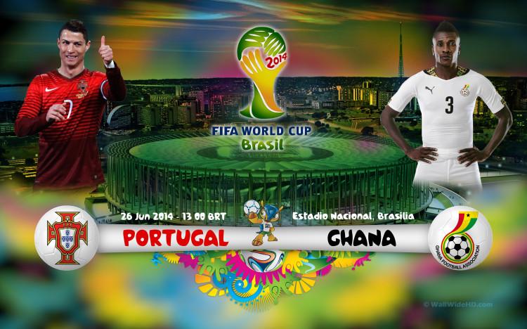 Portugal vs Ghana en Vivo 2014