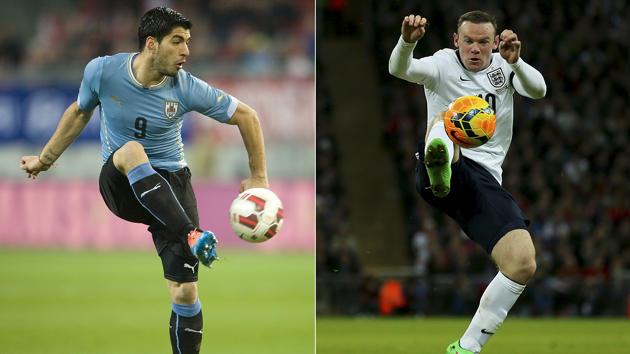 Ver en Vivo Uruguay vs Inglaterra 2014