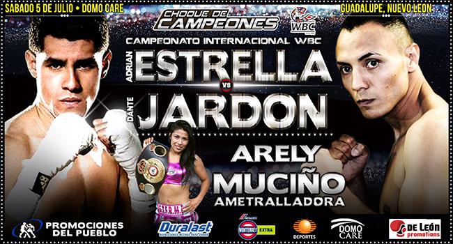 Adrián Estrella vs Dante Jardón en Vivo 2014