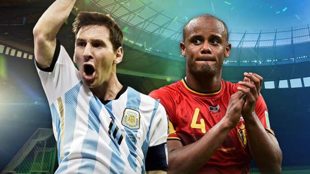 Argentina vs Bélgica en Vivo 2014