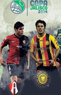 Atlas vs Leones Negros en Vivo 2014