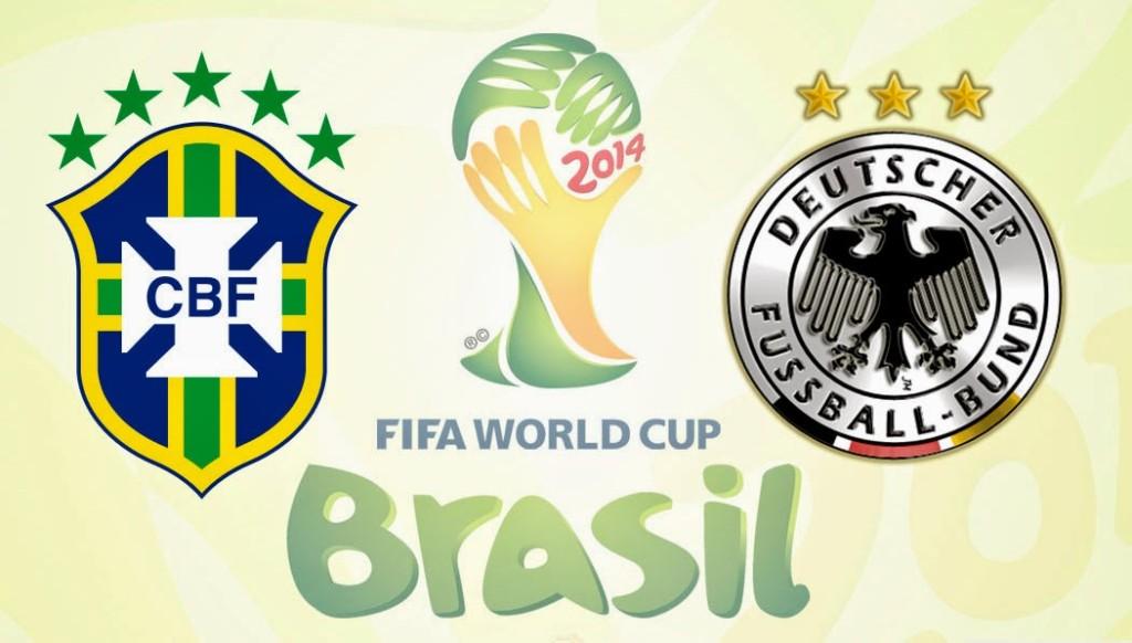 Brasil vs Alemania en Vivo 2014