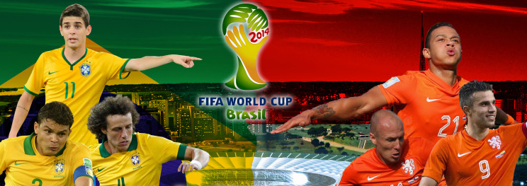 Brasil vs Holanda en Vivo 2014