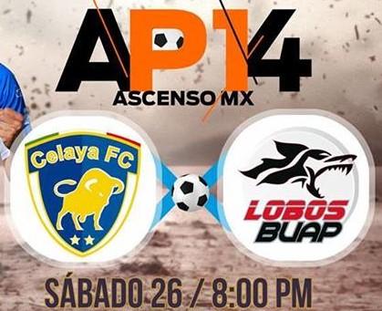 Celaya vs Lobos BUAP en Vivo 2014