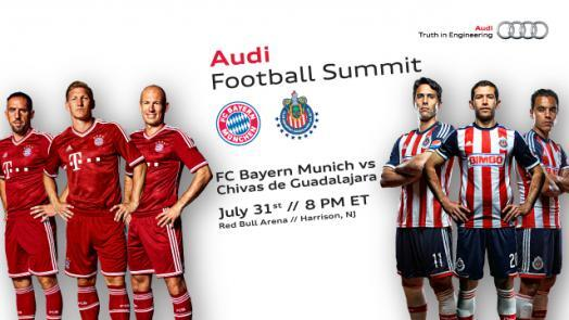 Chivas vs Bayern Munich en Vivo 2014