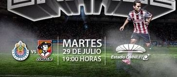 Chivas vs Coras Tepic en Vivo 2014