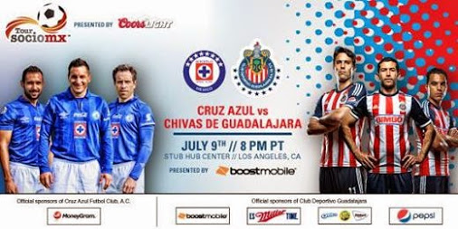 Chivas vs Cruz Azul en Vivo 2014