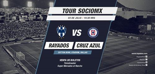 Cruz Azul vs Monterrey en Vivo Amistoso 2014