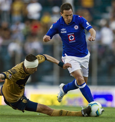 Cruz Azul vs Pumas Amistoso en Vivo 2014