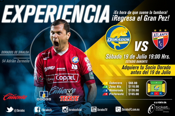 Dorados vs Atlante en Vivo Ascenso MX 2014