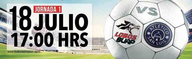 Lobos BUAP vs San Luis en Vivo 2014