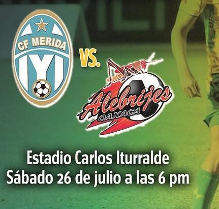 Mérida vs Alebrijes en Vivo 2014
