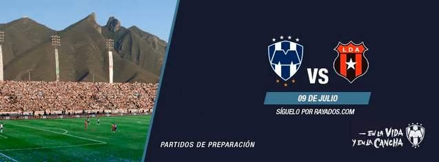 Monterrey vs Alajuelense en Vivo 2014