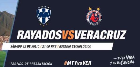Monterrey vs Veracruz en Vivo 2014