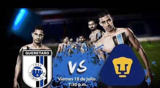 Querétaro vs Pumas en Vivo 2014