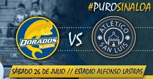 San Luis vs Dorados en Vivo 2014