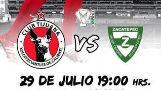 Tijuana vs Zacatepec en Vivo 2014