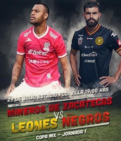 Zacatecas vs Leones Negros en Vivo 2014