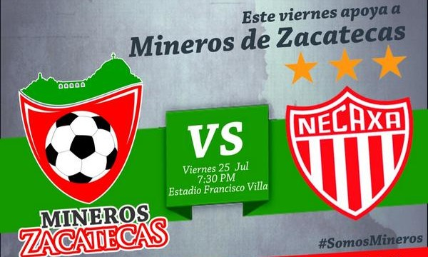 Zacatecas vs Necaxa en Vivo 2014