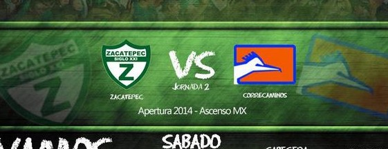 Zacatepec vs Correcaminos en Vivo 2014