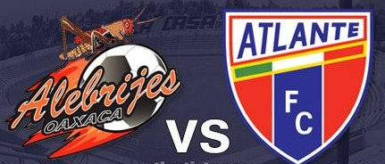 Alebrijes vs Atlante en Vivo Ascenso MX 2014