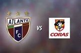 Atlante vs Coras Tepic en Vivo 2014