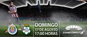 Chivas vs Santos en Vivo 2014